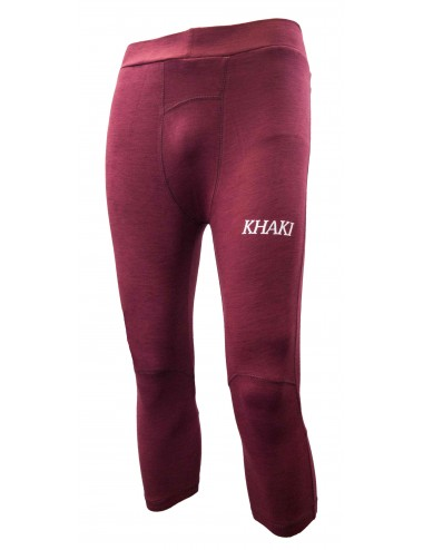 Superiors Tights - Maroon - Half