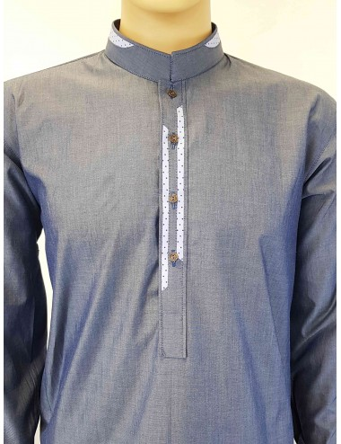 Shalwar Kameez - 2 Strip Plain