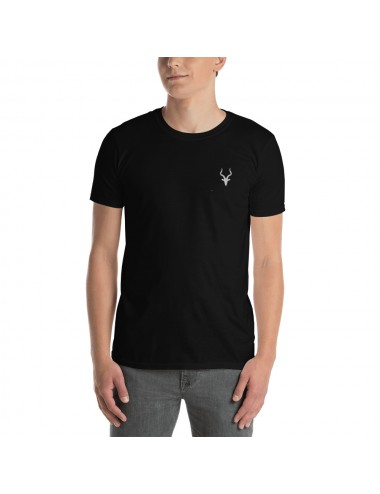 Short-Sleeve Embroidery Mens T-shirt Colours