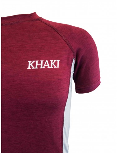 Baselayer Superior T-shirt - Maroon