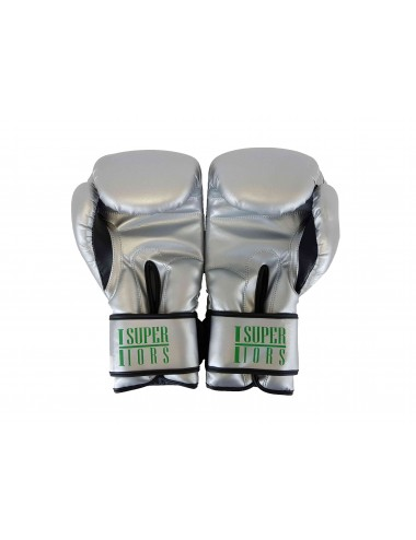 Boxing Gloves - Silver Mantis